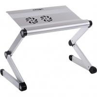 Подставка-столик под ноутбук Crown Micro CMLS-100 арт: silver 21