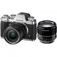 Цифровой фотоаппарат FujiFilm X-T3 Kit XF18-55mm F2.8-4 R LM OIS Silver + XF56mmF1.2 R APD