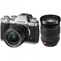 Цифровой фотоаппарат FujiFilm X-T3 Kit XF18-55mm F2.8-4 R LM OIS Silver + XF16-55F2.8 R LM WR